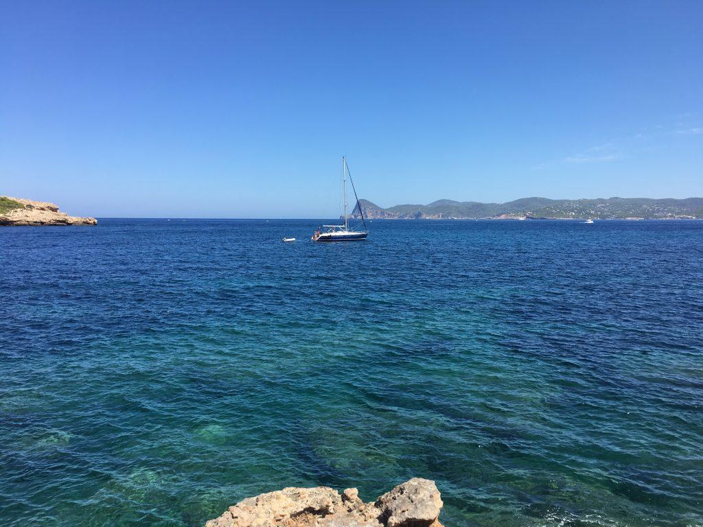 estate a Ibiza Baleari Cala Bassa