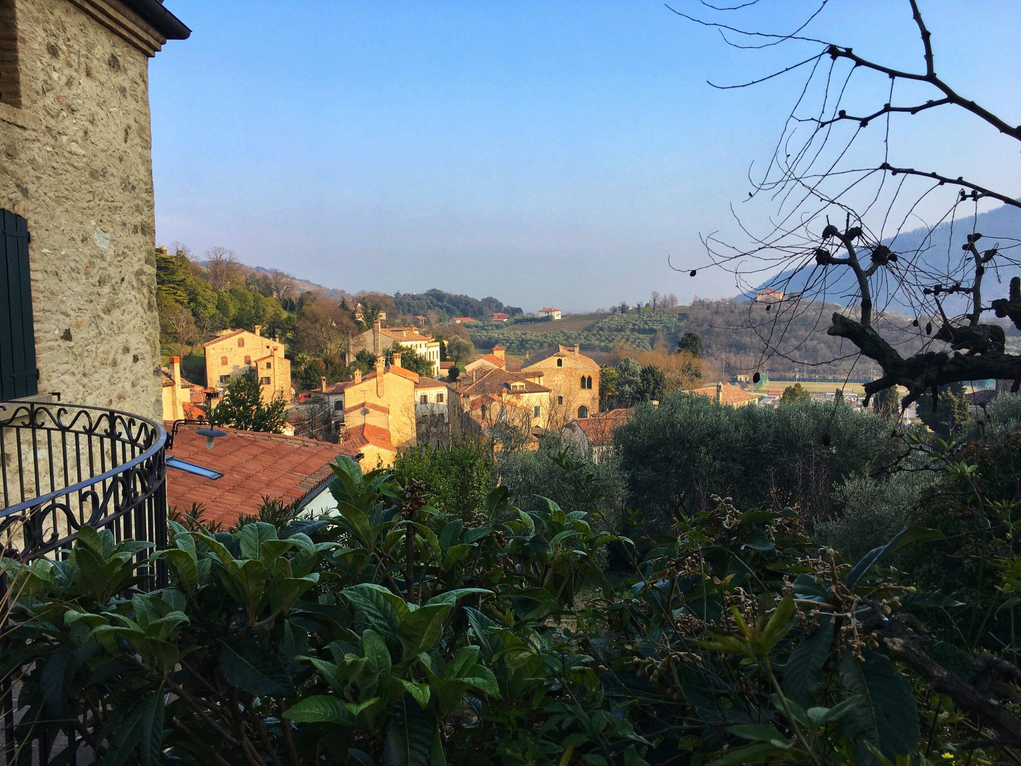 borgo alto Arqua Petrarca