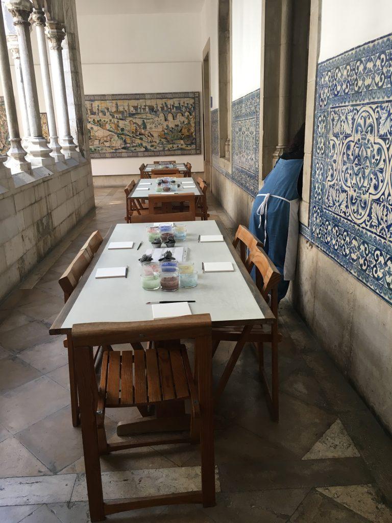 il museo nazionale delle azulejos lisbona