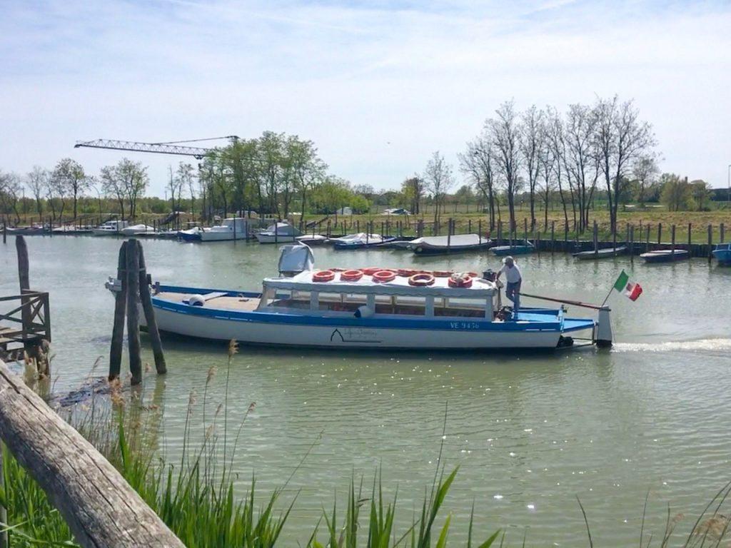 visitare la laguna di venezia in barca