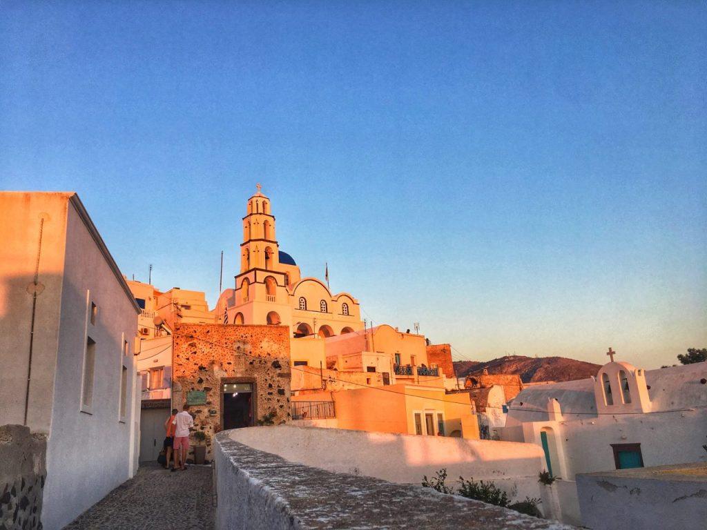 dove vedere i migliori tramonti di santorini