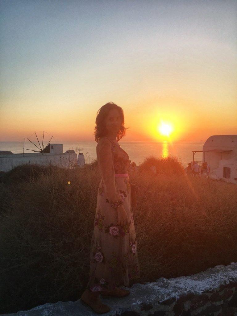 dove vedere i tramonti più belli a santorini
