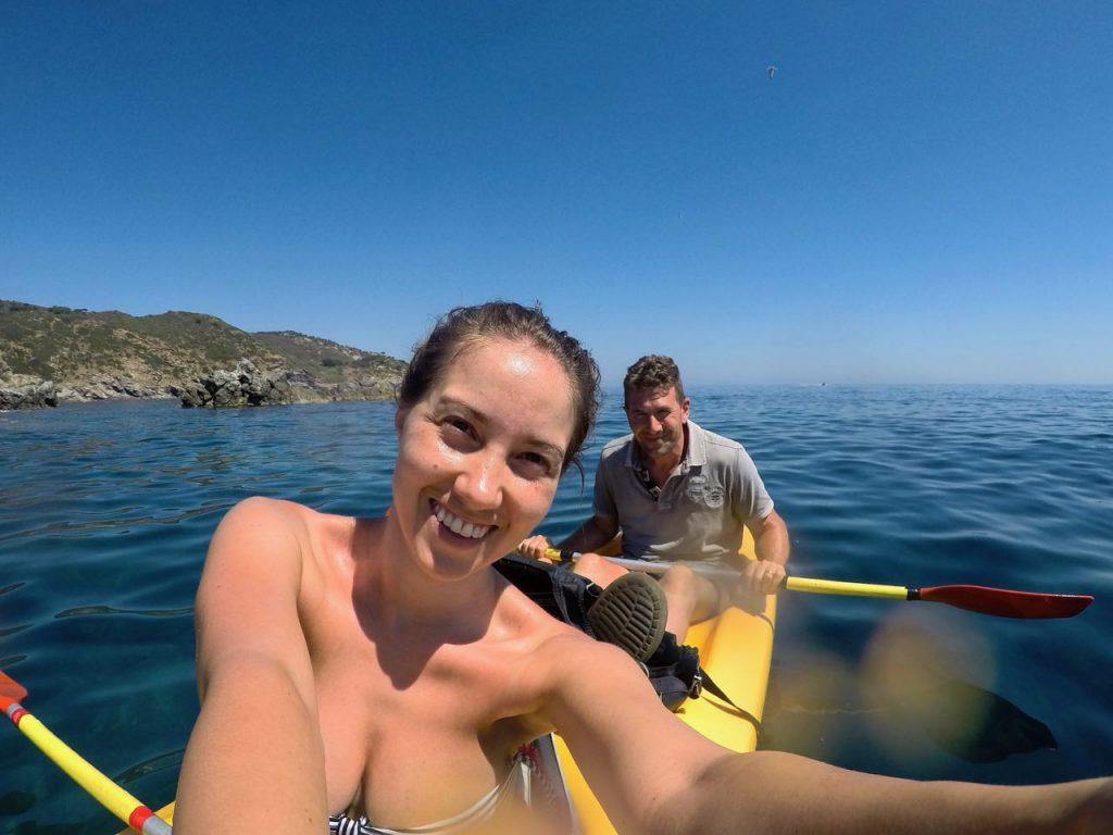 dove noleggiare una canoa all'isola d'elba