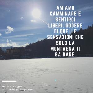 citazioni sulla montagna