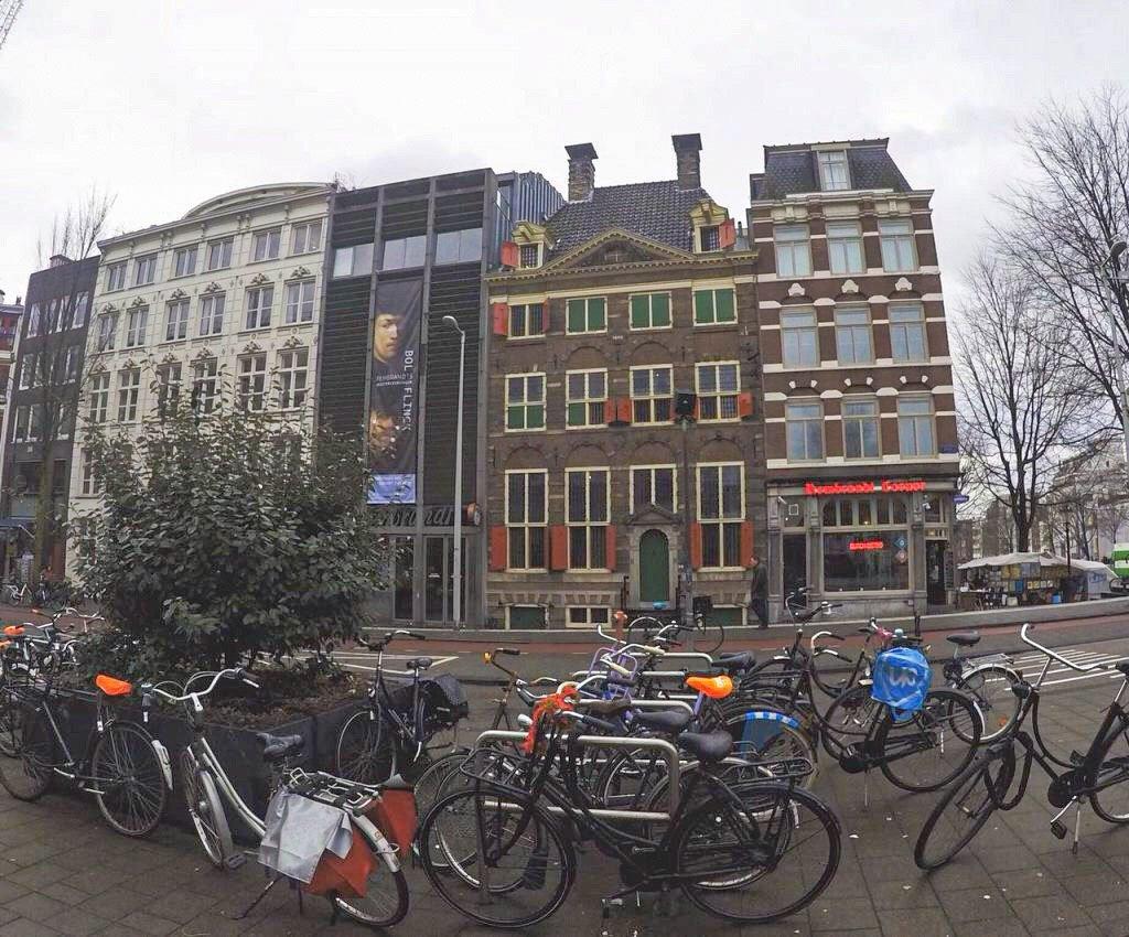 itinerario in bici amsterdam